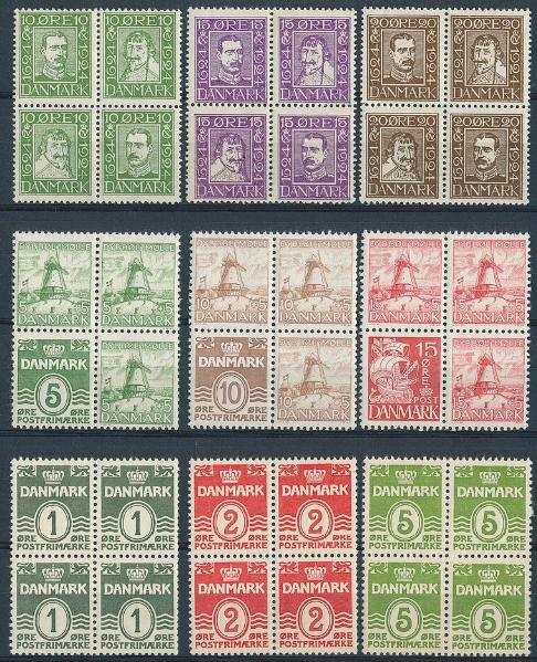 1924-1937. Stockcard with bettter issues