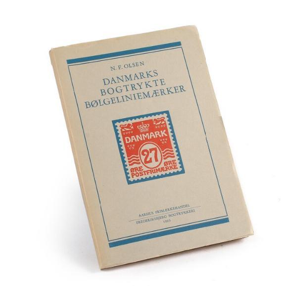 Litteratur. Danmarks Bogtrykte Bølgeliniemærker. Af N.F.Olsen 1965. 191 sider