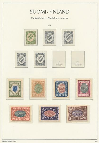 Finland. 1885-2000. Collection in 2 Leuchtturm album, from 1938 rather complete and from 1960 apparently um
