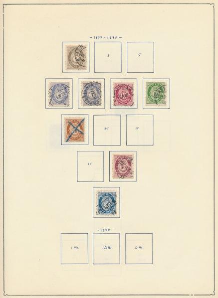 Norway. 1877-1985. Collection in a Leuchtturm-album
