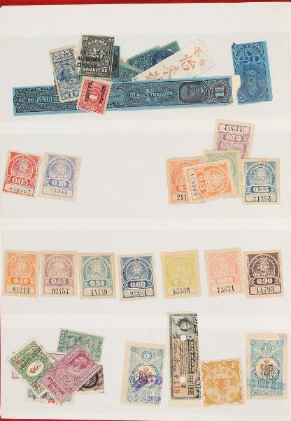World. Stockbook with old cinderellas