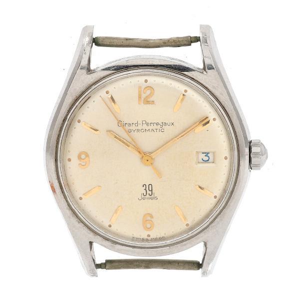 A gentleman's wristwatch of steel