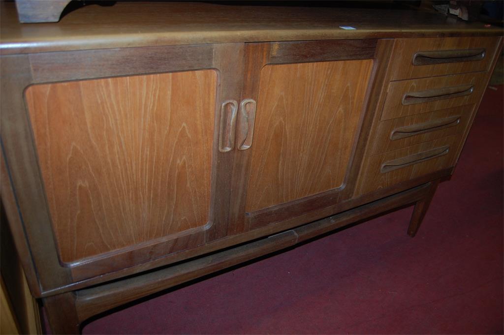 A 1960s G-Plan teak sideboard