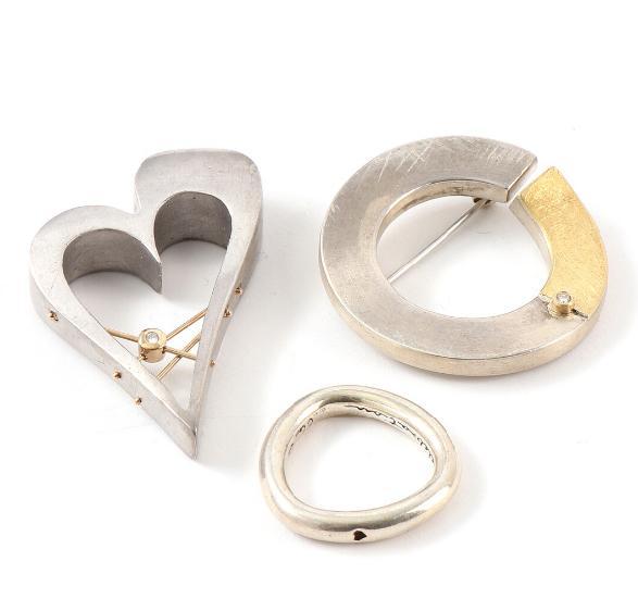 "A sterling silver ""Celebration"" ring"