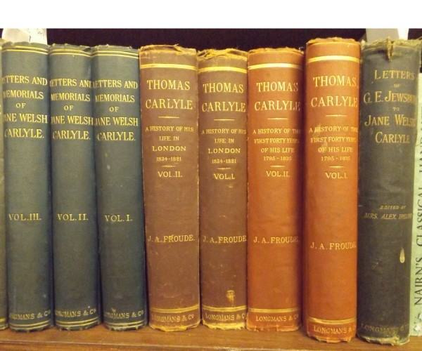 JAMES ANTHONY FROUDE: THOMAS CARLYLE, A HISTORY OF THE FIRST FORTY YEARS OF HIS LIFE – A HISTORY OF HIS LIFE IN LONDON, 1882, 18