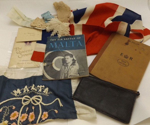 Packet assorted ephemera including World War II period civilian diary, content mainly relating to what to do in the event of gas