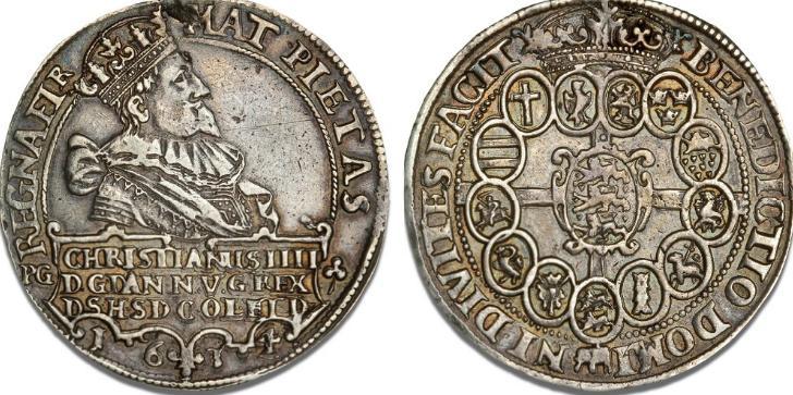 Speciedaler 1634, H 55C, S 4, Dav. 3524