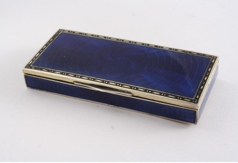 A LATE 19TH / EARLY 20TH CENTURY AUSTRO-HUNGARIAN ENAMELLED BOX