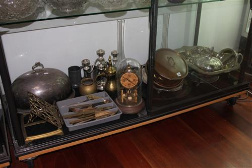 Silver Plated Meat Dome with Other Plated & Metal Wares