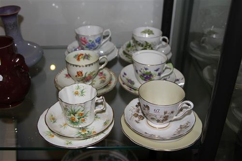 Royal Albert ''Friendship'' Trio with 5 Others incl. Hammersley