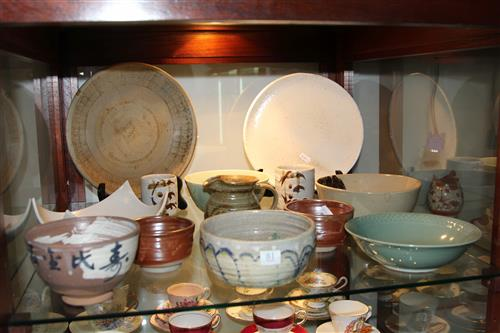 Studio Pottery Bowls & Dishes incl Signed