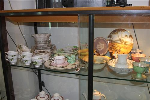 Royal Winton Tazza & Tray with Other Ceramics incl. Melba Dinner Wares