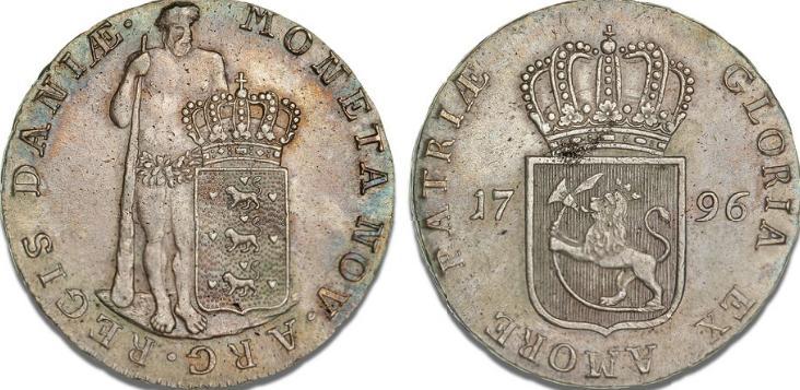 Albertsdaler 1796, Altona, H 22B, S 3, Dav. 1310