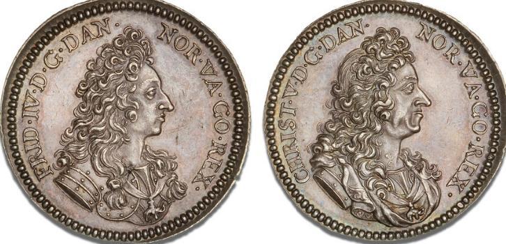 12 mark / 3 krone 1699, H 35, S 8, NMD 2, Dav. A3649