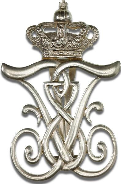 Kong Frederik den Ottendes mindetegn (1912), sølv, LS 3-009 (Fig. 502), tildelt i 28 eksemplarer