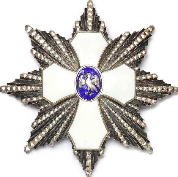 "Island, Ordenen ""Den islandske falk"", Storkorsstjerne, type I (1921 - 1944)"