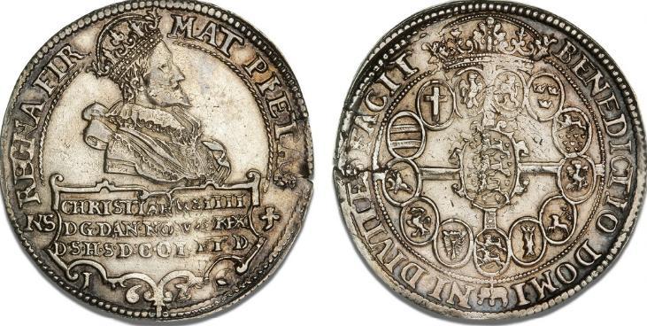 Speciedaler 1626, H 55A, S 5, Dav. 3524