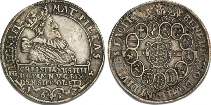 Speciedaler 1632, H 55C, S 6, Dav. 3524