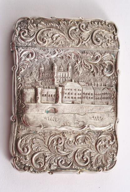 """A RARE VICTORIAN EMBOSSED """"CASTLETOP"""""""