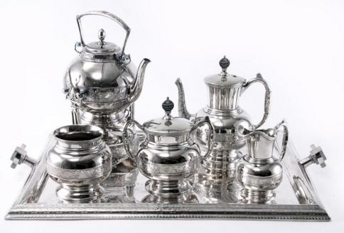 SILVERPLATE TEA SERVICE