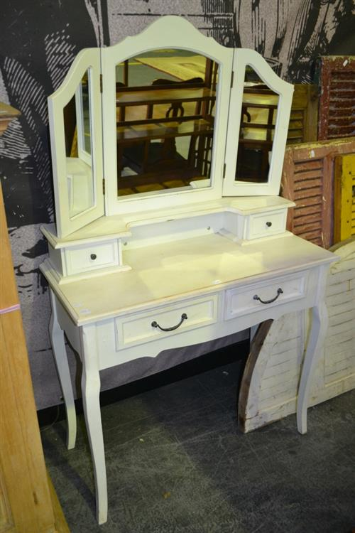Dresser with Wing Mirrors