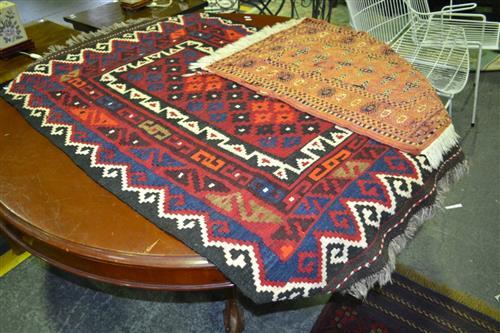 Kilim (140x92cm) & Prayer Mat (76x60cm)