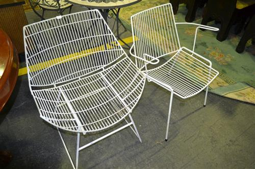 Pair Of 1960''s Outdoor Chairs