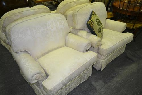 Moran Pair Of Upholstered Armchairs