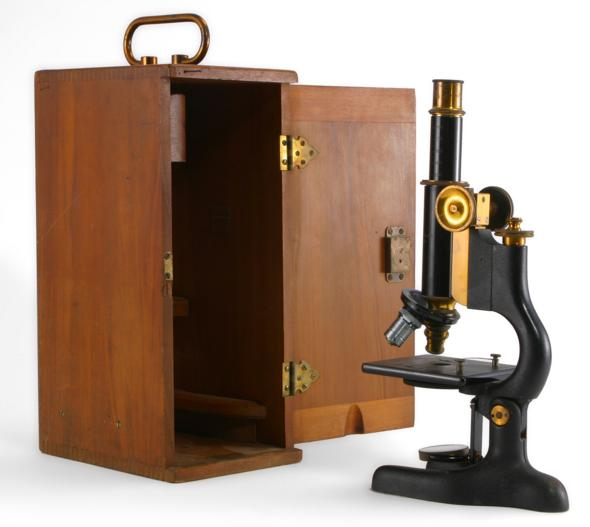 BAUSCH & LOMB OPTICAL CO CASED MICROSCOPE