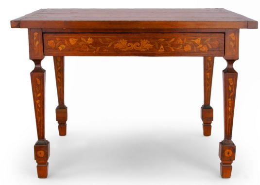 DUTCH MARQUETRY WRITING TABLE