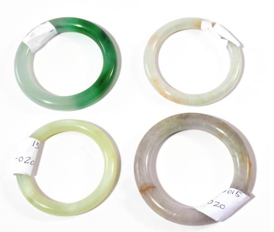 FOUR CHINESE BANGLES