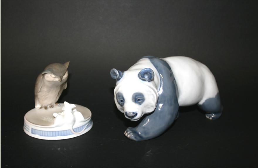 ROYAL COPENHAGEN GIANT PANDA