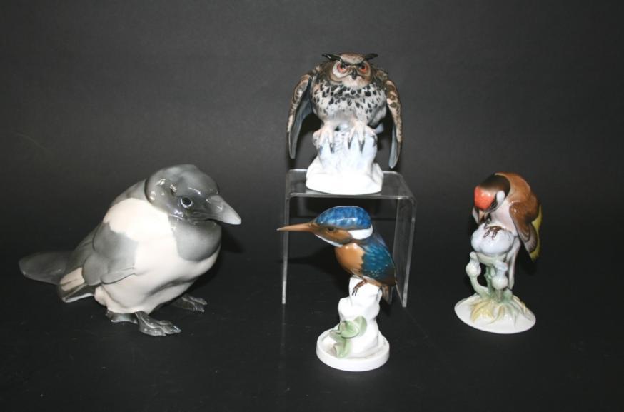 ROSENTHAL PORCELAIN BIRDS