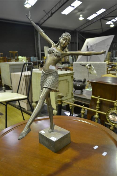Art Deco Style Dancing Figure