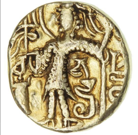 India, Kushan Empire, Kipanada c. 330-360