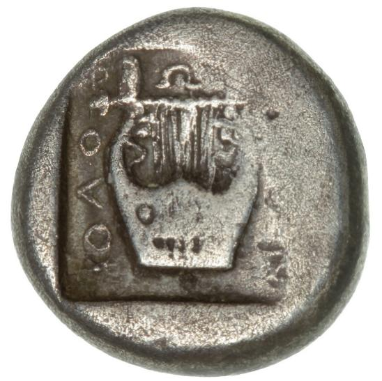 Ancient Greece, Ionia, Kolophon, Drachm, c. 490-400 BC, 5.39 g, SNG Cop 139var