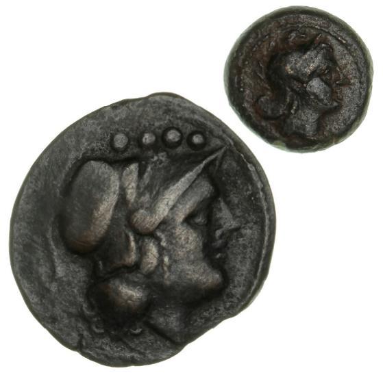 Roman Republic, Triens, c. 157-155 BC, 7.40 g, Sear 989 var