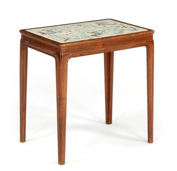 Coffee table of mahogany