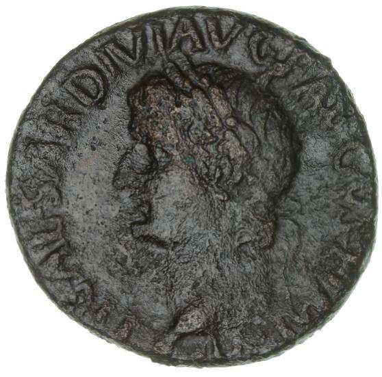 Roman Empire, Tiberius, 14 - 37, As, 34/35, 11.15 g, RIC 53
