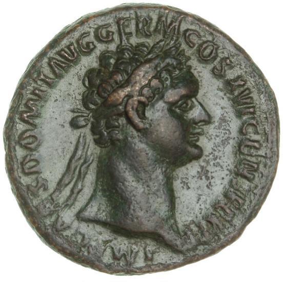 Roman Empire, Domitian, 81-96, As, 92-94, 10.24 g, RIC 755