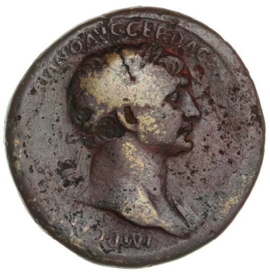 Roman Empire, Trajan, 98 - 117 AD, Sestertius, 106 AD, 25.88 g, RIC 569