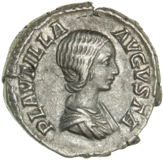 Roman Empire, Plautilla 202-205, Denarius, 2.96 g, RIC 369