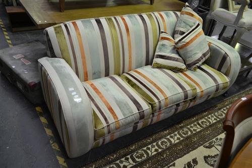 Art Deco 3 Seater Sofa