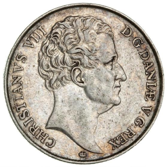 Christian VIII, speciedaler 1846, H 3F