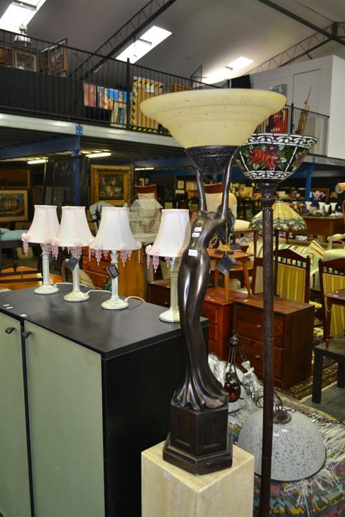 Lady Figure Standard Lamp