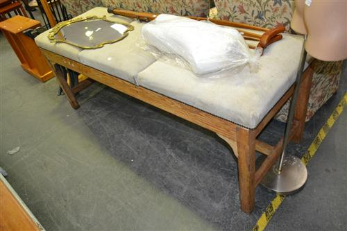 Suede Top Massage Table