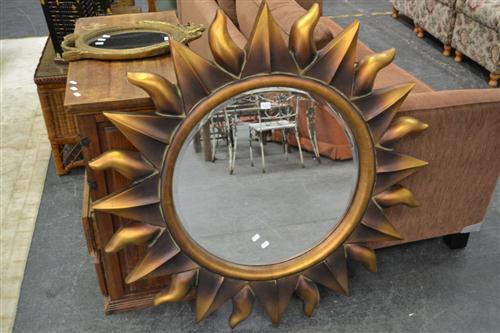 Sun Form Mirror