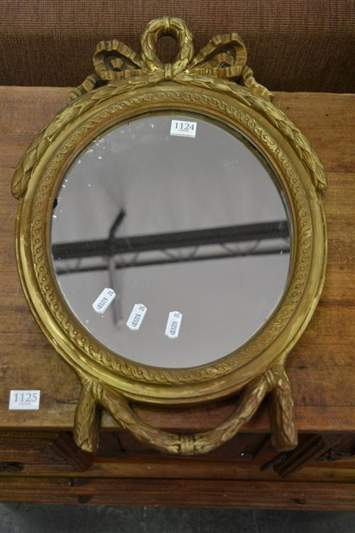Small Gilt Framed Mirror