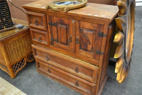 Rustic Timber Cupboard