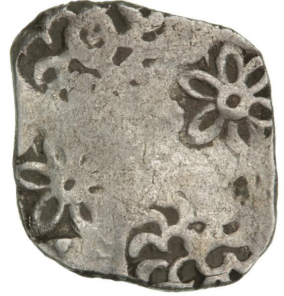 India, Kashi Japanada, under Kosala, Vimshatika, c. 525-465 BC, 4.64 g, Rajgor 809